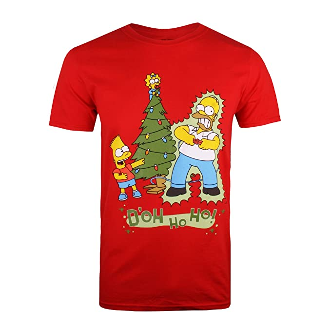 Simpsons Homer Shock, Camiseta para Hombrehttps://amzn.to/2ZddAEi
