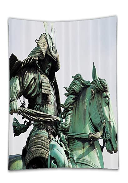 amazon com chaoran tablecloth sculptures decor collection samurai
