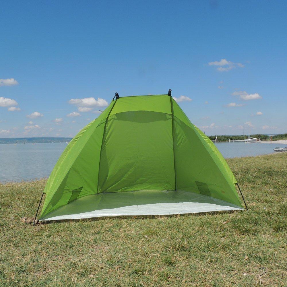 Outdoorer tente de plage Helios UV 60 rangement ultracompact vert ultral/ég/ère