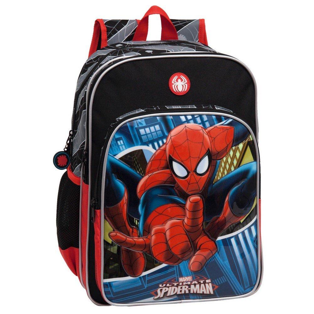 Marvel 24524A1 Spiderman Mochila Escolar, 15.6 Litros, Color Azul: Amazon.es: Equipaje