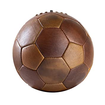 We Print Balls - Balón de fútbol de Estilo Vintage Tradicional Cosido ...