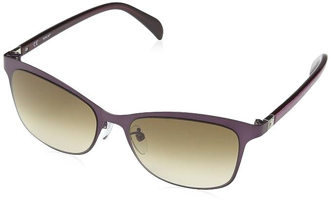 Tous Damen Sonnenbrille STO330-540SET, Violett (Semi/Matt Aubergine), 54