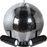 Amazon Com Club Size 16 Quot Mirror Disco Ball Musical
