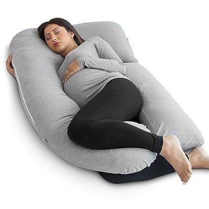 Amazon Com Pharmedoc Pregnancy Pillow U Shape Full Body Pillow