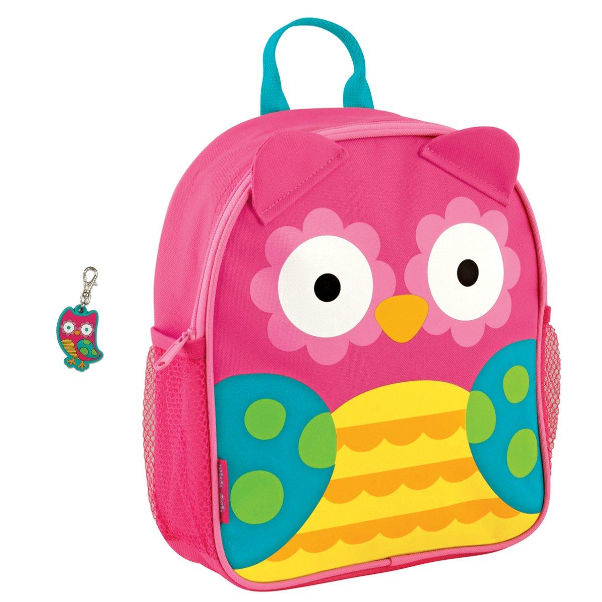 Stephen Joseph Girls Mini Sidekick Owl Backpack and Zipper Pull