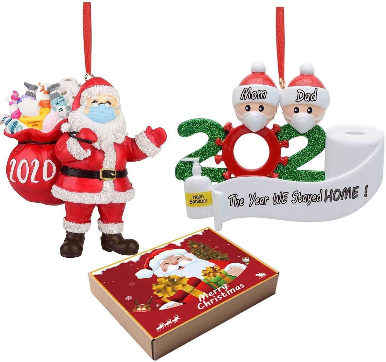 Merry Christmas 2020 3d Ornament Amazon.com: 3D 2020 Christmas Ornament Sets with Dog DIY Name