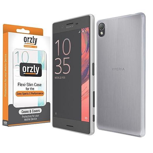 3 opinioni per Orzly®- FlexiSlim Case Per SONY XPERIA X PERFORMANCE SmartPhone (2016 Modello)-