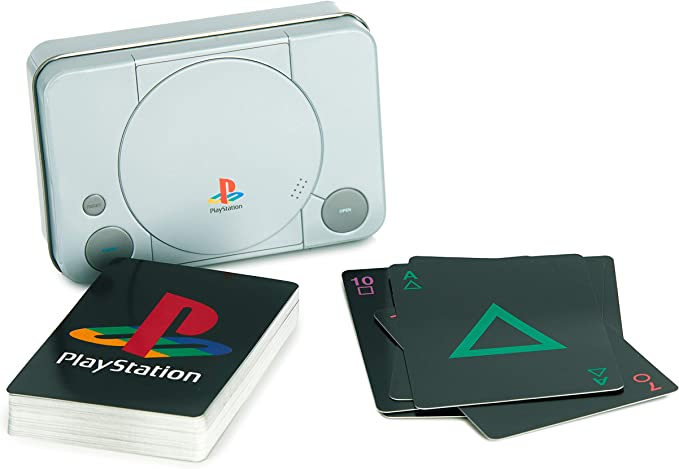 Paladone pp4137ps Playstation Otros Jugando a Las Cartas en Forma de Lata: Amazon.es: Juguetes y juegos
