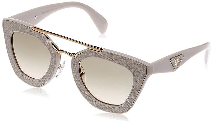 Prada Mujer 0PR14SS UFP3H2 49 Gafas de sol, Blanco (Ivory ...