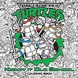 Kickin' It Old School Coloring Book (Teenage Mutant Ninja Turtles) (Adult Coloring Book)