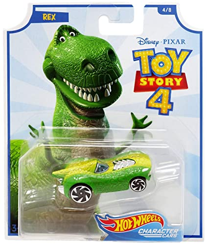 Hot Wheels Character Cars Toy Story 4 Rex