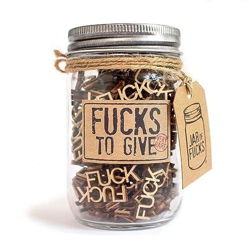Jar of Fucks, Funny Gag Gift