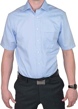 Marvelis de camisa 7959 – 12 – 11 color azul claro de media manga New de Kent Cuello
