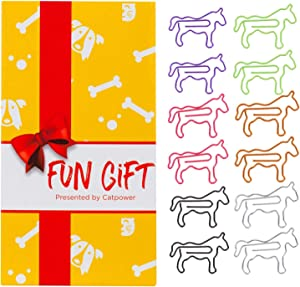 60Pcs Cute Horse Paper Clips, Horse Lover Gifts for Women, Cute Horse Office Supplies, Office Desk Accessories for Work School Office, Animal Gifts for Women Coworkers Horse Lovers