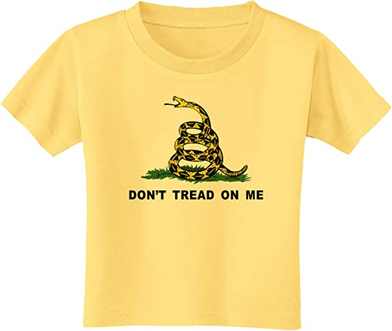 Don/'t Tread On Me Youth T-Shirt Gadsden Flag Rattle Snake Tee