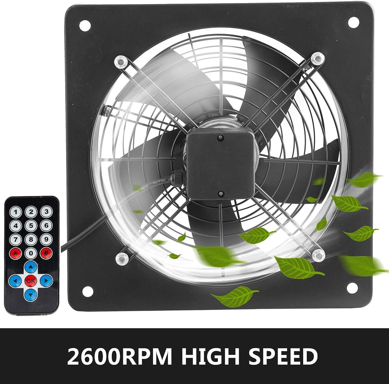 Mophorn Ventilador de Rotor Exterior 12 Pulgadas y 135 W de Cobre Puro 2600 rpm con Controlador de Velocidad