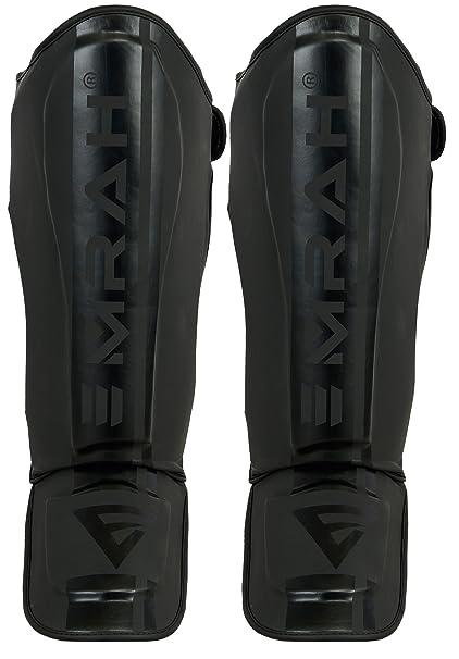 Haya, L//XL 3X Professional Choice Shin Instep Guard Krav Maga MMA Almohadillas para Las piernas Equipo de protecci/ón Boxeo tailand/és UFC Entrenamiento Kickboxing