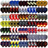 L.E.D STEP 35 Sets (105 pcs) Dart Flights Darts Accessory Feather Tail Wing...