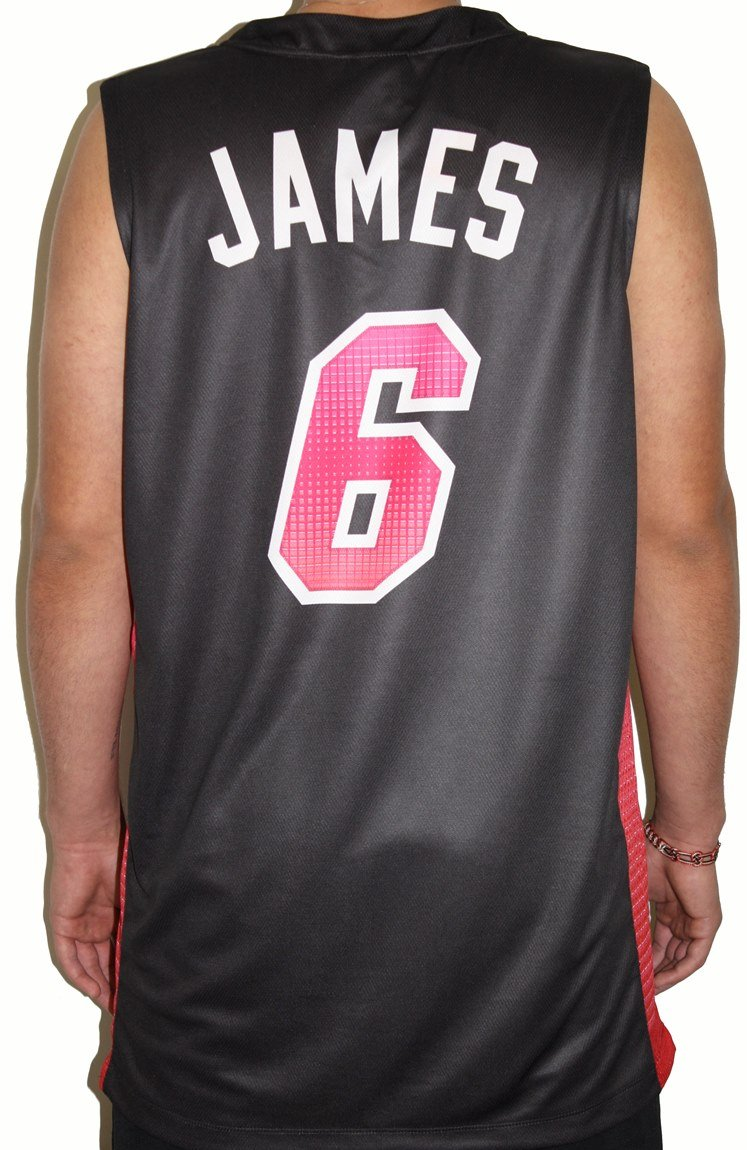 Amazon.com   Lebron James Miami Heat Majestic NBA