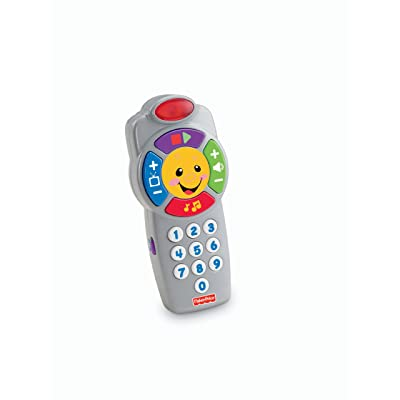 Fisher-Price Laugh & Learn Click 'n Learn Remote: Toys & Games
