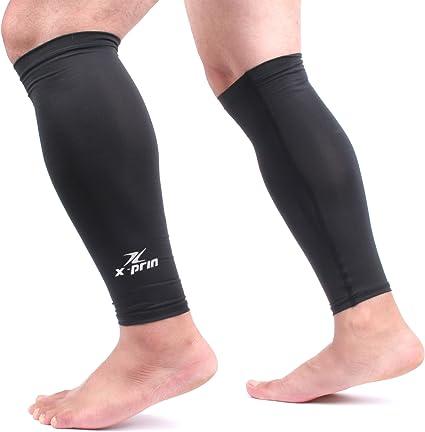 Zensah Unisexs Compression Knee Sleeve-Black Small//Medium
