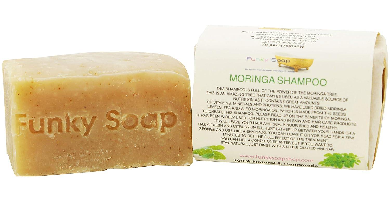 Handcrafted Moringa Shampoo Bar 120g