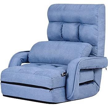 Amazon Com Giantex Folding Lazy Sofa Floor Chair Sofa