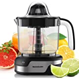 Homeleader Electric Citrus Juicer, Orange Juicer with Powerful Motor and LED Working Lamp, Orange Squeezer for Grapefruits, O