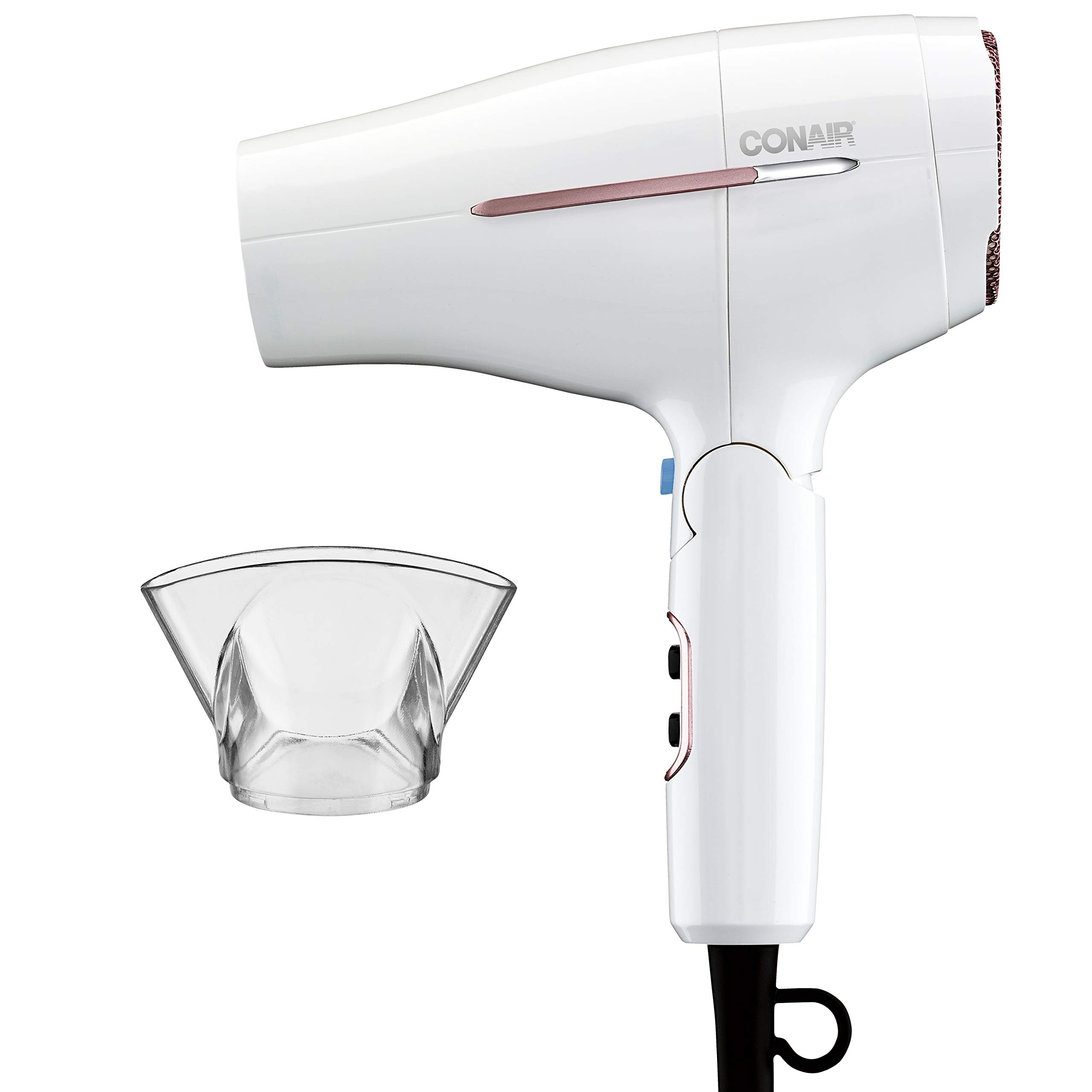 Conair 1875 Watt Worldwide Travel Hair Dryer with Smart Voltage Technology and Folding Handle by Conair