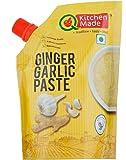 Kitchen Made Ginger Garlic Paste-200 Gr (Pack of 3)