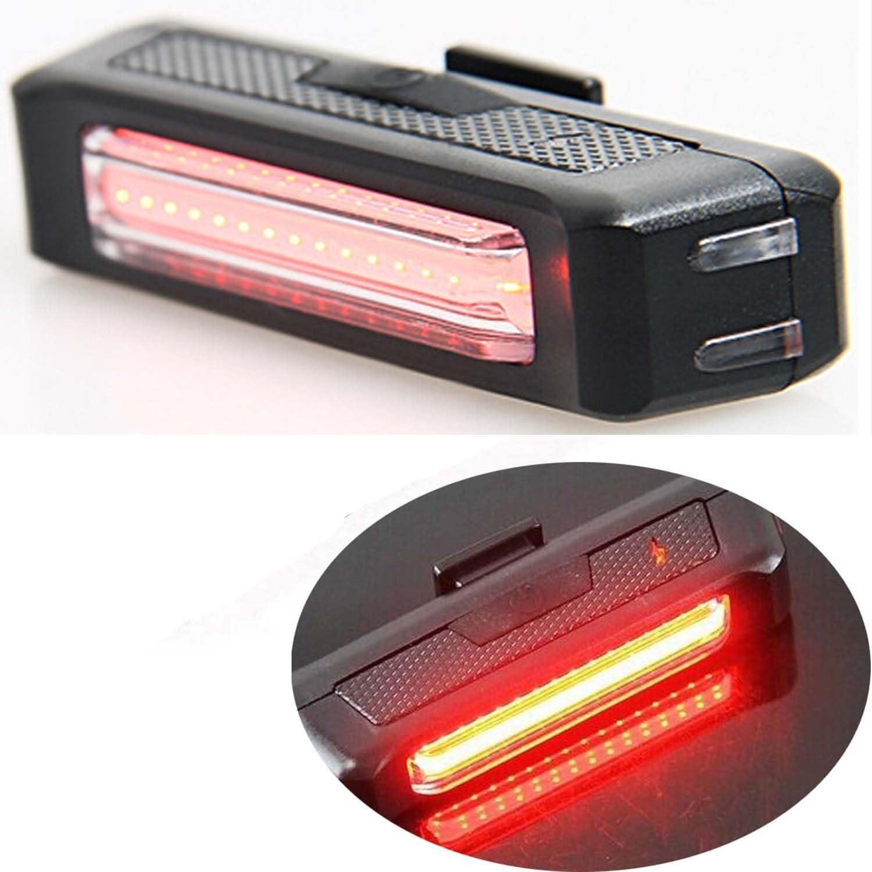 Agua resistente 100 l/úmenes Super Bright USB recargable bicicleta luz trasera calle monta/ña ni/ños bicicleta luz LED trasero con bicicleta de Monte luz roja