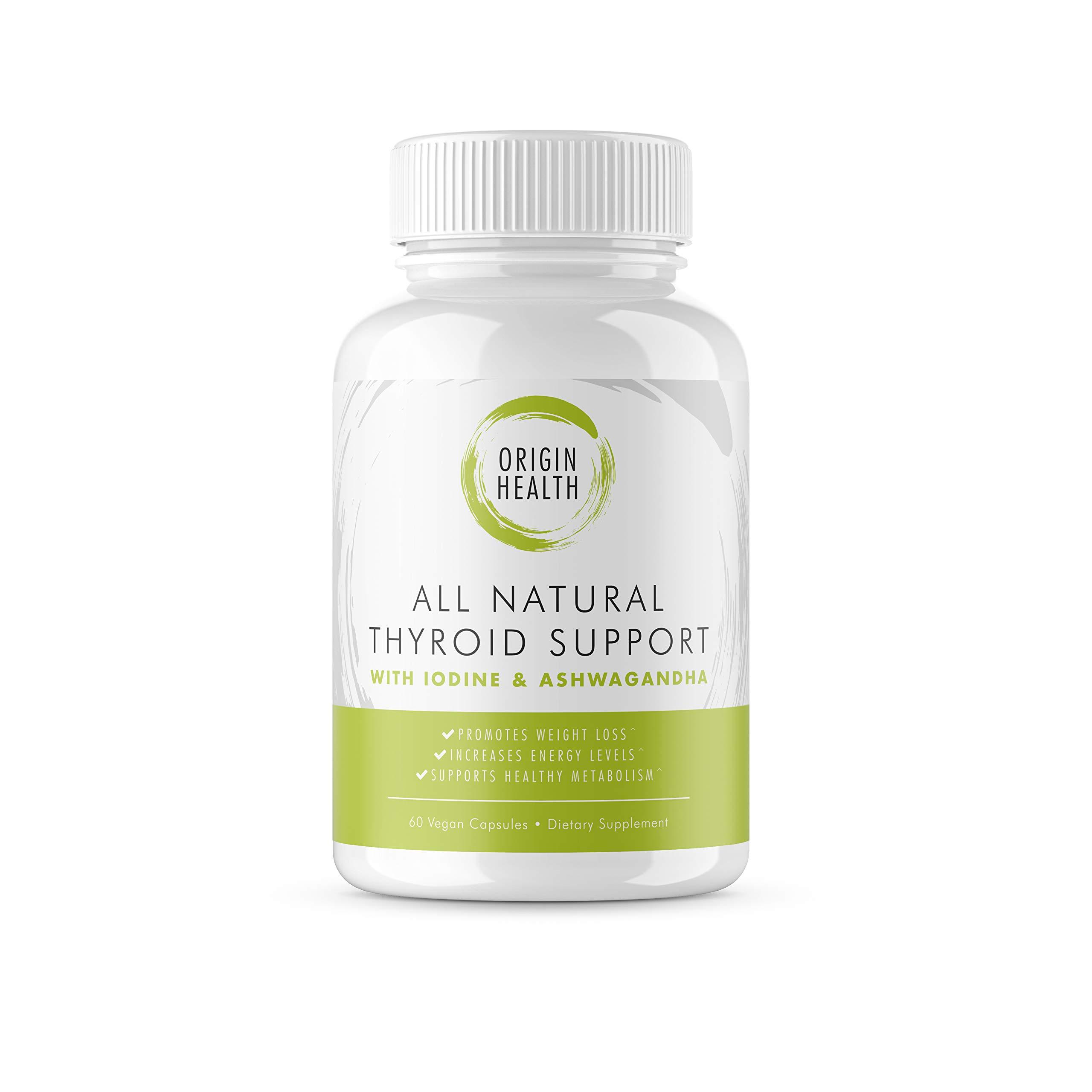 Thyroid Support Supplement *100% Money Back Guarantee* 50% Better Value * Metabolism, Energy and Focus Formula - Vegetarian & Non-GMO - Vitamin B12 Complex, Zinc, Selenium, Ashwagandha - 60ct.