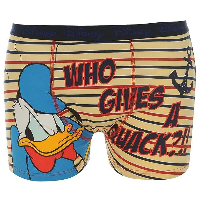 Disney Hombre Boxer Shorts Calzoncillos Nieve Blanco Elastico Cintura Band Multicolor Small: Amazon.es: Ropa y accesorios