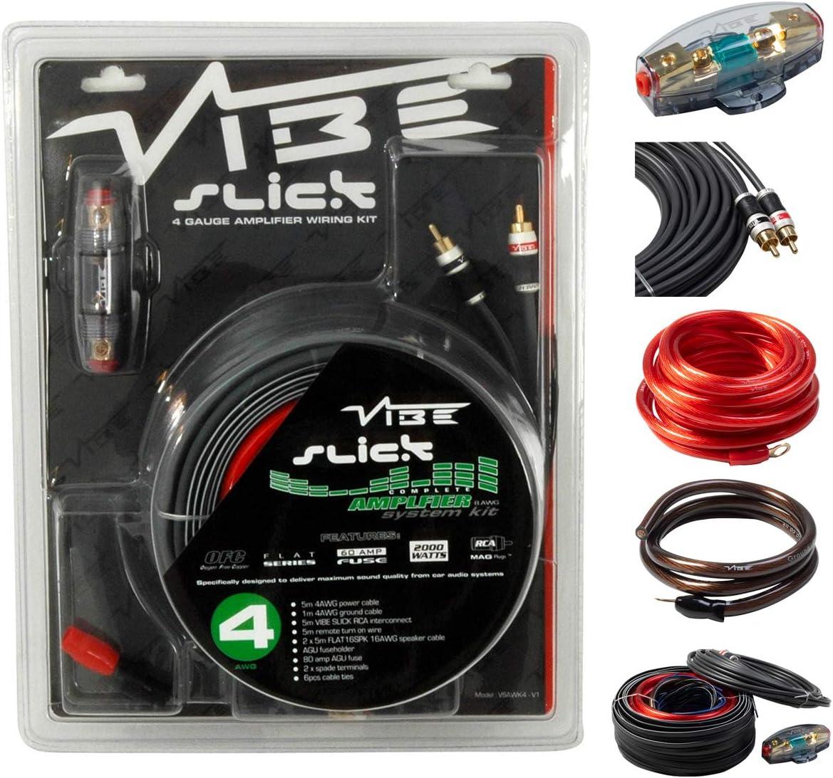 Vibe Audio Slick 2000 W System Car Wiring Kit Elektronik
