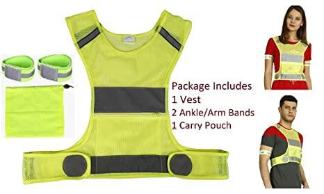 224f50098669 LifeKrafts Reflective Running Vest Gear - Your Best Choice to Stay Visible