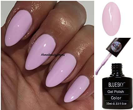 Blue Sky A89 Pinky Rose Clair Vernis A Ongles Gel Uv Led Soak Off 10