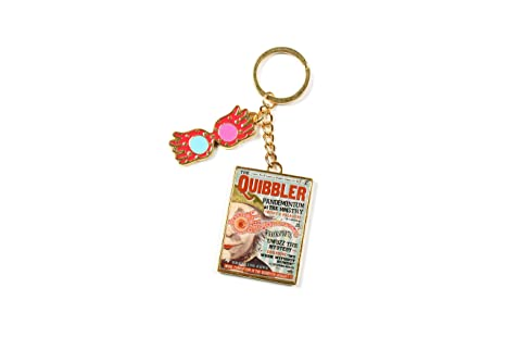Harry Potter Luna Lovegood - Quibbler Magazine Llavero ...