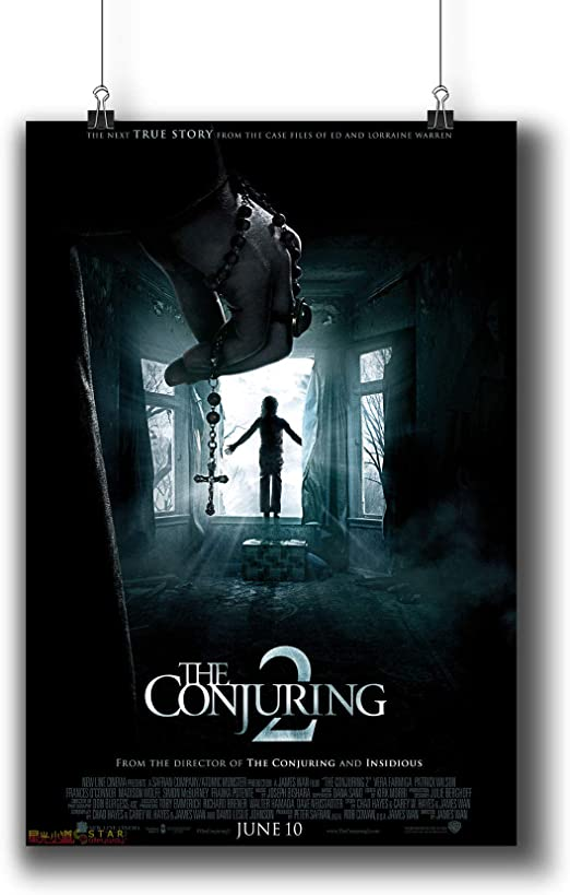 THE CONJURING 2 MOVIE POSTER FILM A4 A3 ART PRINT CINEMA