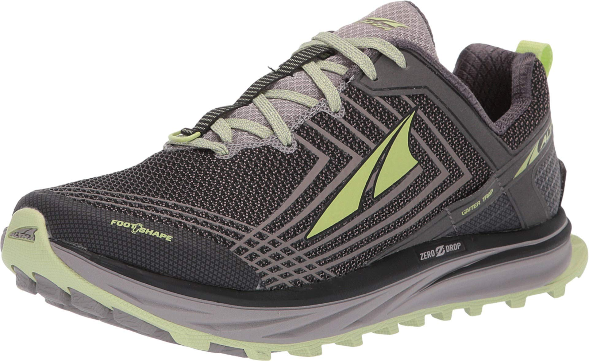 Altra Footwear Women's TIMP 1.5 Gray/Lime 5.5 B US