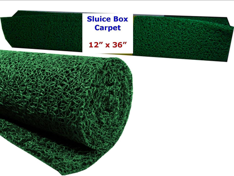 "VAS NOMAD MINER'S MOSS -SLUICE BOX CARPETING 12"" X 36"" - GREEN:  Amazon.co.uk: Garden & Outdoors"