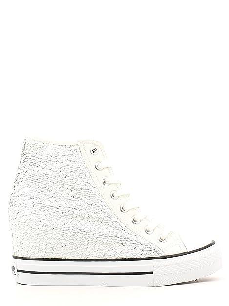 sports shoes 89a3c adf42 CAFÈ NOIR Sneaker donna running tipo all stars pailletes P/E 2016 cod. DG902