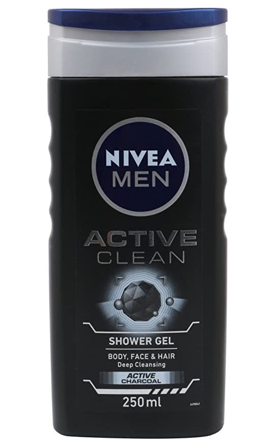 Beau Nivea Men Active Clean Shower Gel, 250ml