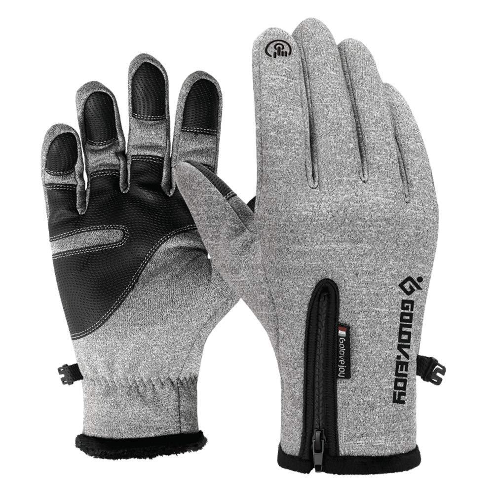 Outdoor Gloves For Men Women Waterproof Winter Driving Touchscreen Gloves LISUEYNE HMSMB03