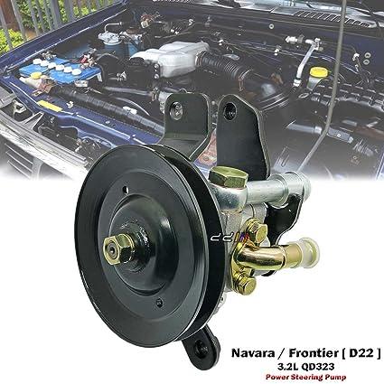 Amazon Com Power Steering Pump For Nissan Navara Truck D22 1998 00