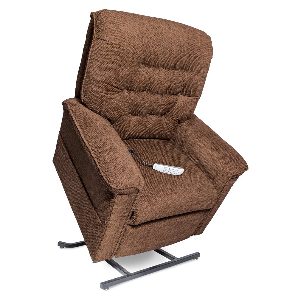 Pride Heritage Collection LC-558 Infinite Position Lift Chair and Recliner (Walnut)