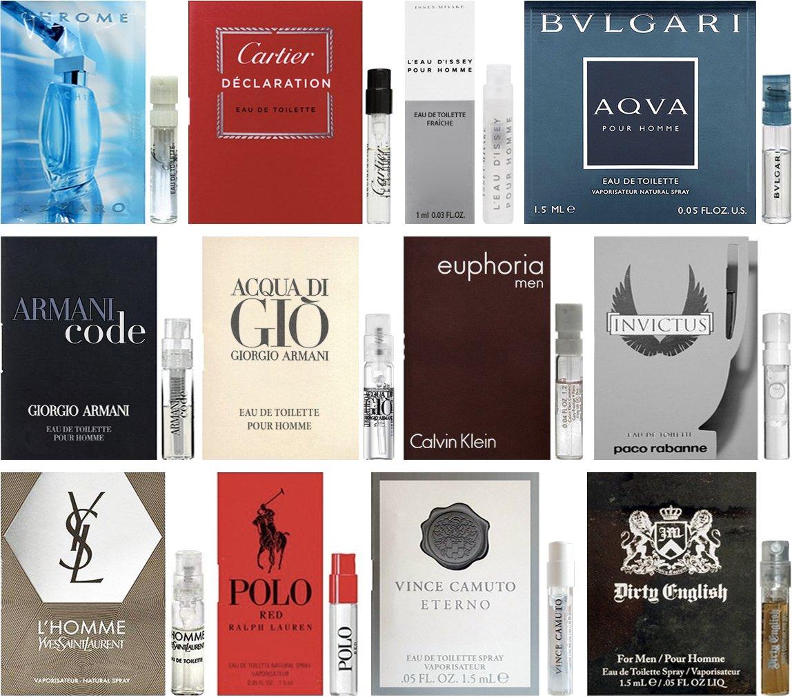 Dubai Tester Perfume Review: Amazon.com : 10 Mens Cologne Sample Vials All High End : Beauty