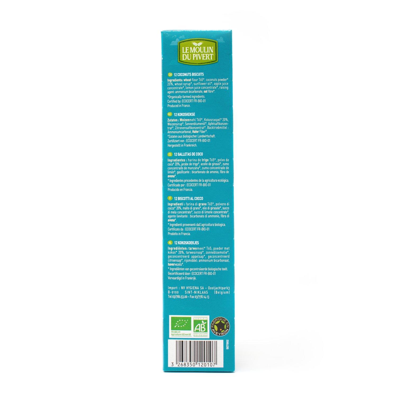 Le Moulin Du Pivert Galletas Equilibrio con Coco - Paquete de 12 x 150 gr - Total: 1800 gr: Amazon.es: Alimentación y bebidas