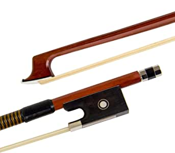 1pc Nice Design Full Size 4/4 Violin Bow Brazilwood Violin Parts