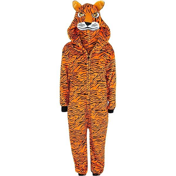 A2Z 4 Kids/® Kids Girls Boys A2Z Onesie One Piece Extra Soft Fluffy Giraffe All in One Halloween Costume New Age 7 8 9 10 11 12 13 14 Years