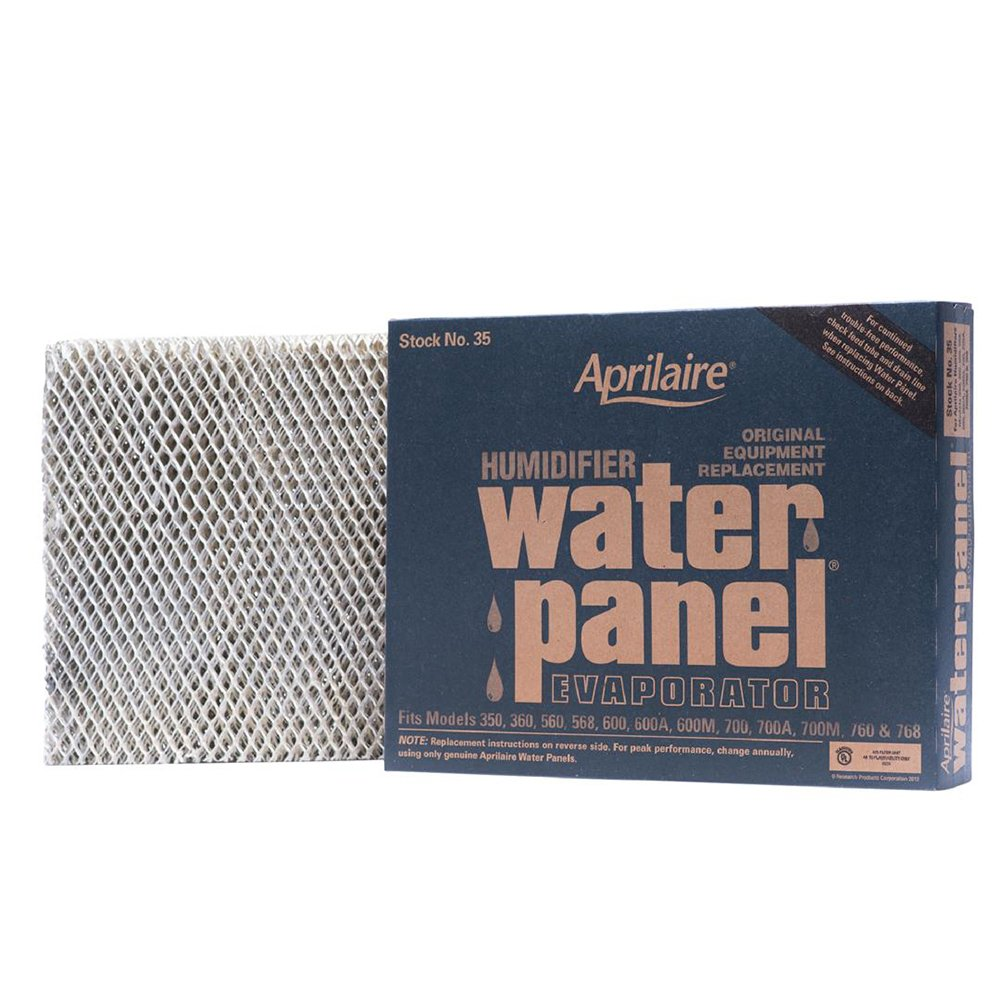 Aprilaire 35 Water Panel for Humidifier Models 350, 360, 560, 568, 600, 700, 760, 768; Pack of 10